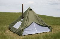 NEW 12x12ft Outfitter Spike Wall Tent for Hunting and