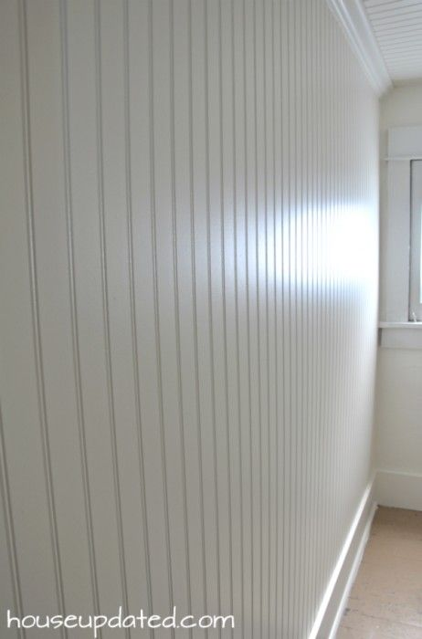 DIY How to Install Beadboard on Walls and Ceilings Master Bath - beadboard bathroom ideas
