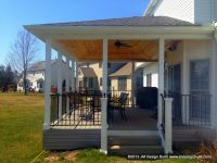 Covered Deck Olmsted Falls, Oh/ Composite Deck Flooring ...