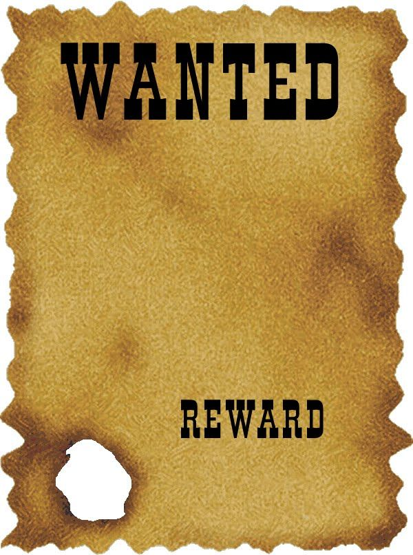 free wanted poster template for kids | lukex.co