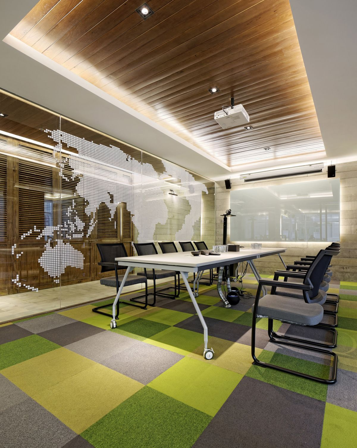 Conference Room Decorating Inspiring Office Meeting Rooms Reveal Their Playful