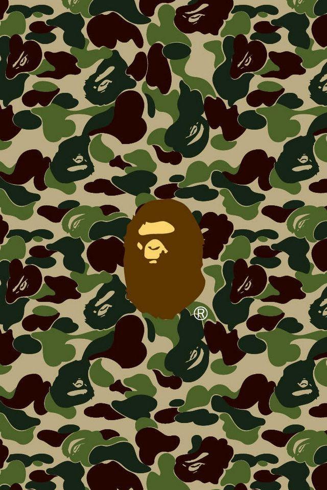 Goyard Wallpaper Iphone 6 Logo Brands Bape Bape Hintergrundbilder F 252 R Iphone 4
