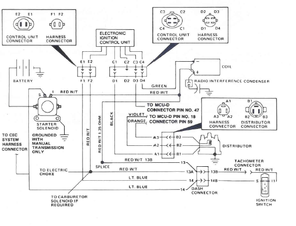 jeep cj7 ignition wires diagram
