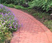 brick pathway designs | Brick Path Patterns | Front Yard ...