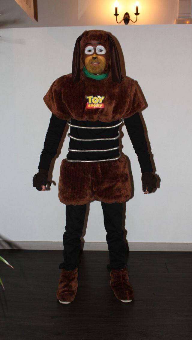 Slinky toy story costume disfraz halloween make up