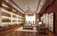 Chinese Interior Design | Living room wall art Chinese ...
