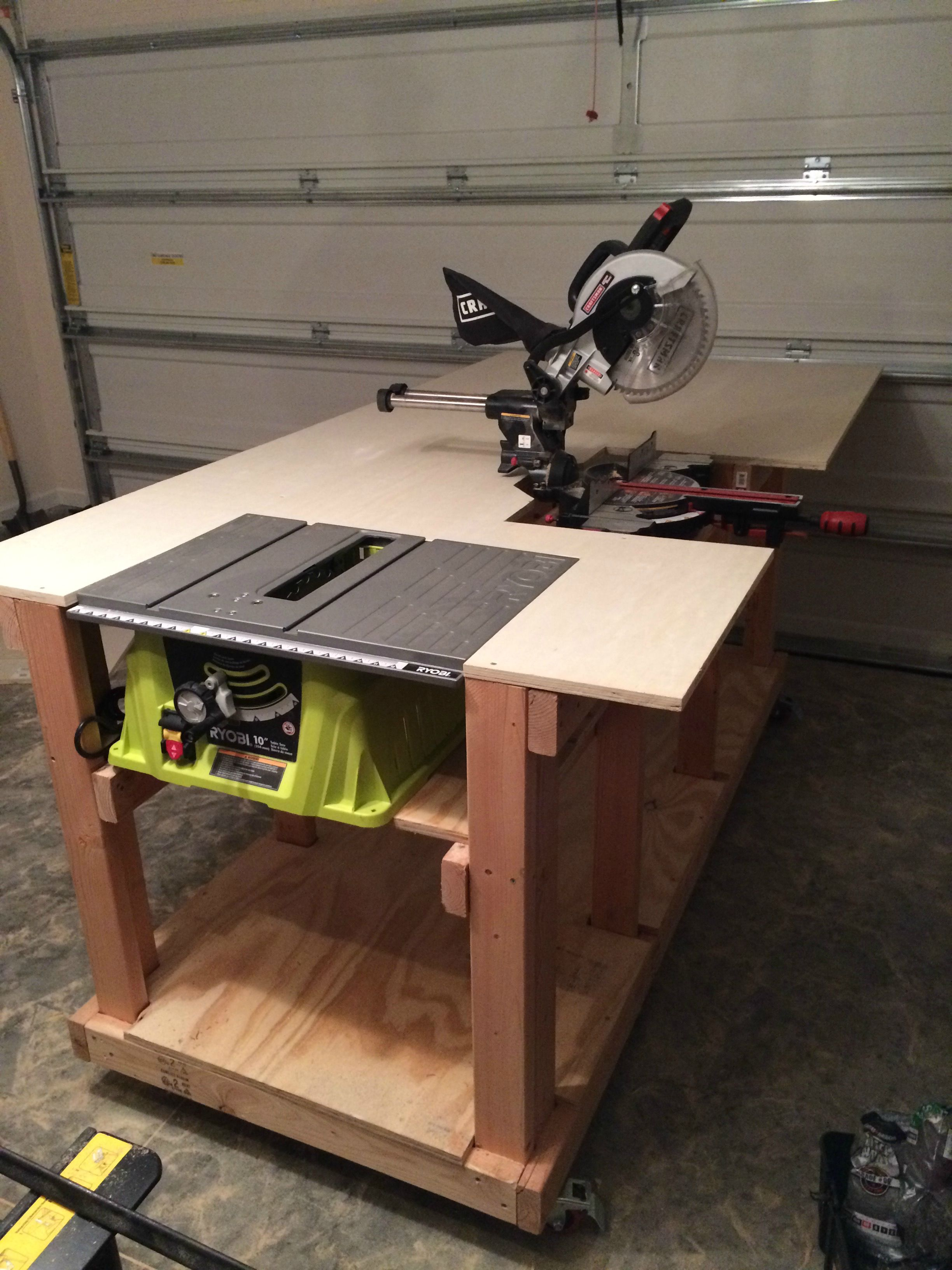 Woodworking Table Ideas Diy Workbench Diy Workbench Woodworking And Wood Working