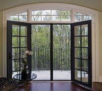 Black Sliding Glass Patio Doors | Kitchen Dining 1541 ...