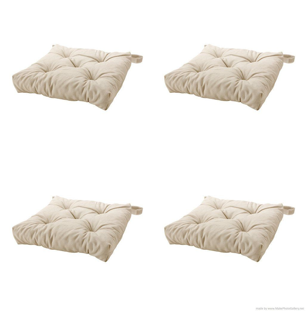 Ikea Chair Pads Amazon.com - Ikea's Malinda Chair Cushion, Light Beige-4
