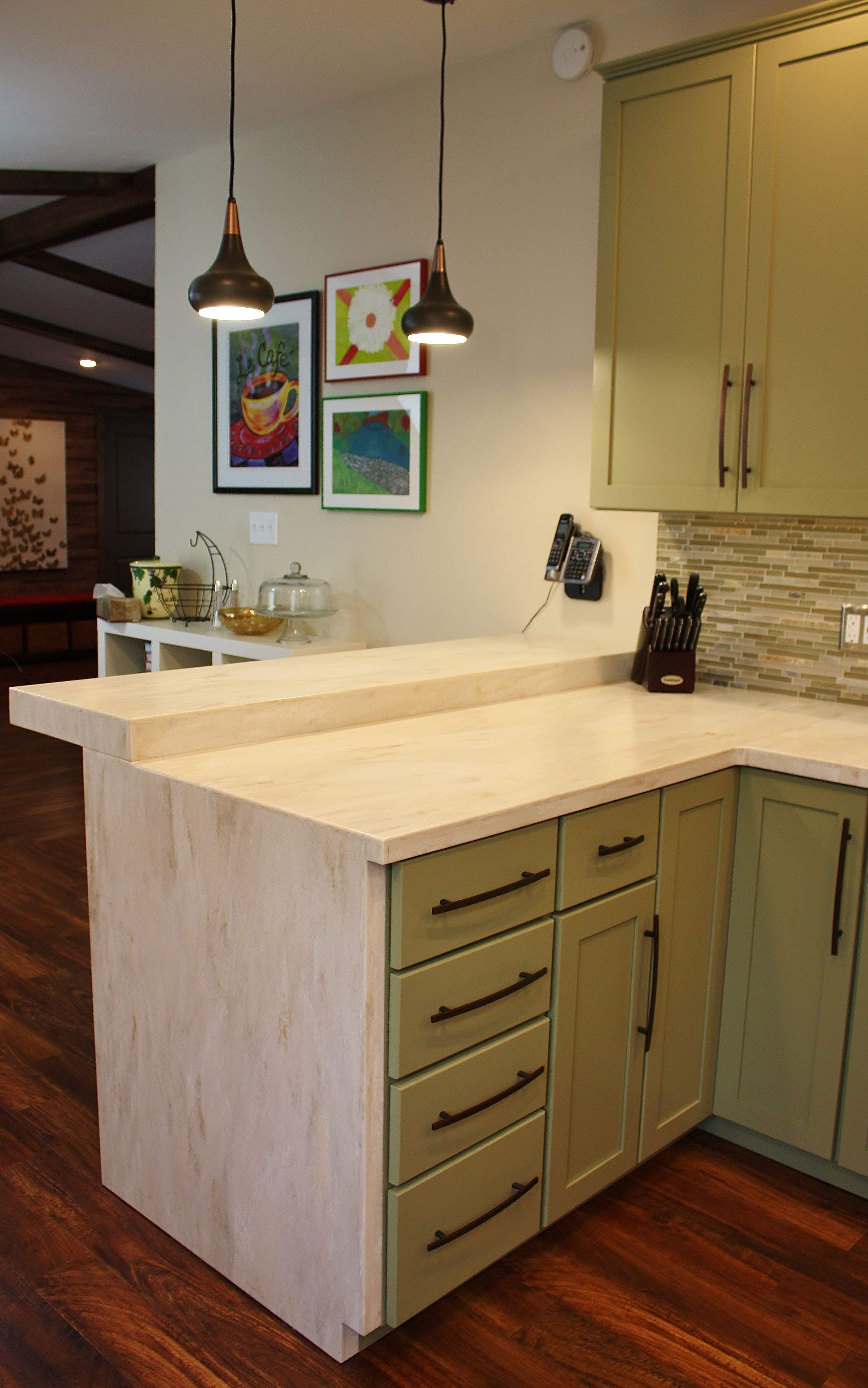 Solid Surface Countertops Utah Holiday Kitchen Seattle Shaker Cabinets Corian