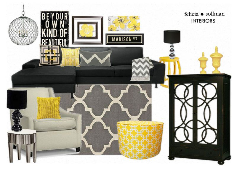 Best 25+ Yellow living room furniture ideas on Pinterest Yellow - yellow and grey living room