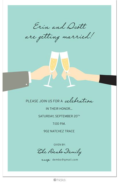 engagement party invites? My dream wedding! Pinterest - how to word engagement party invitations