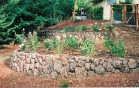 garden walls ideas michaels landscape construction rock ...