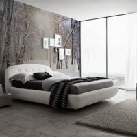 Modern Winter Bedroom Wallpaper Murals
