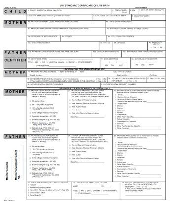 15 Birth Certificate Templates (Word \ PDF) - Template Lab ha ha - birth certificate template