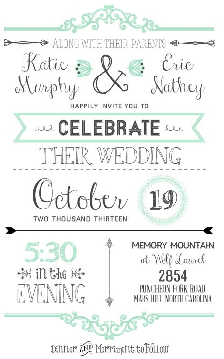 FREE Wedding Invitation Templates Free wedding invitations, Free - free download invitation templates