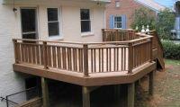 Wooden Terrace Fence