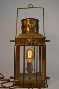 Vintage Nautical Viking Brass Ship Lantern Pendant Lamp ...