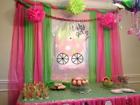 Baby shower decorations dollar tree table cloth ...