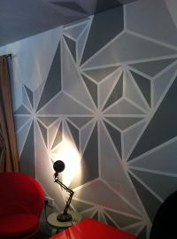 What colour to paintgeometric update! | Walls, Bar and ...