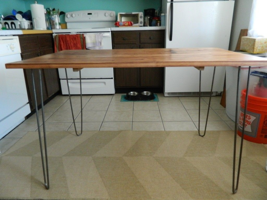 Hairpin Legs Ikea Ikea Dining Table Hack Hairpin Project Inspiration