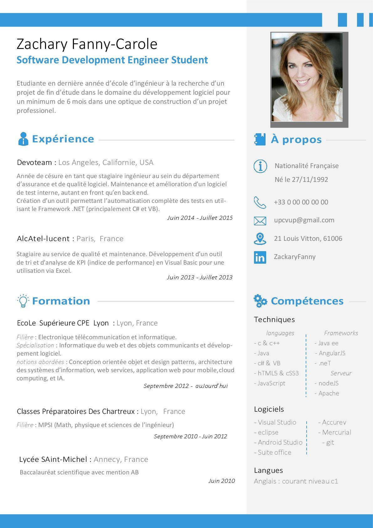 logiciel design gratuit cv visuel