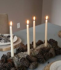 Log candle holder on Etsy, $20.00 | Candles | Pinterest ...