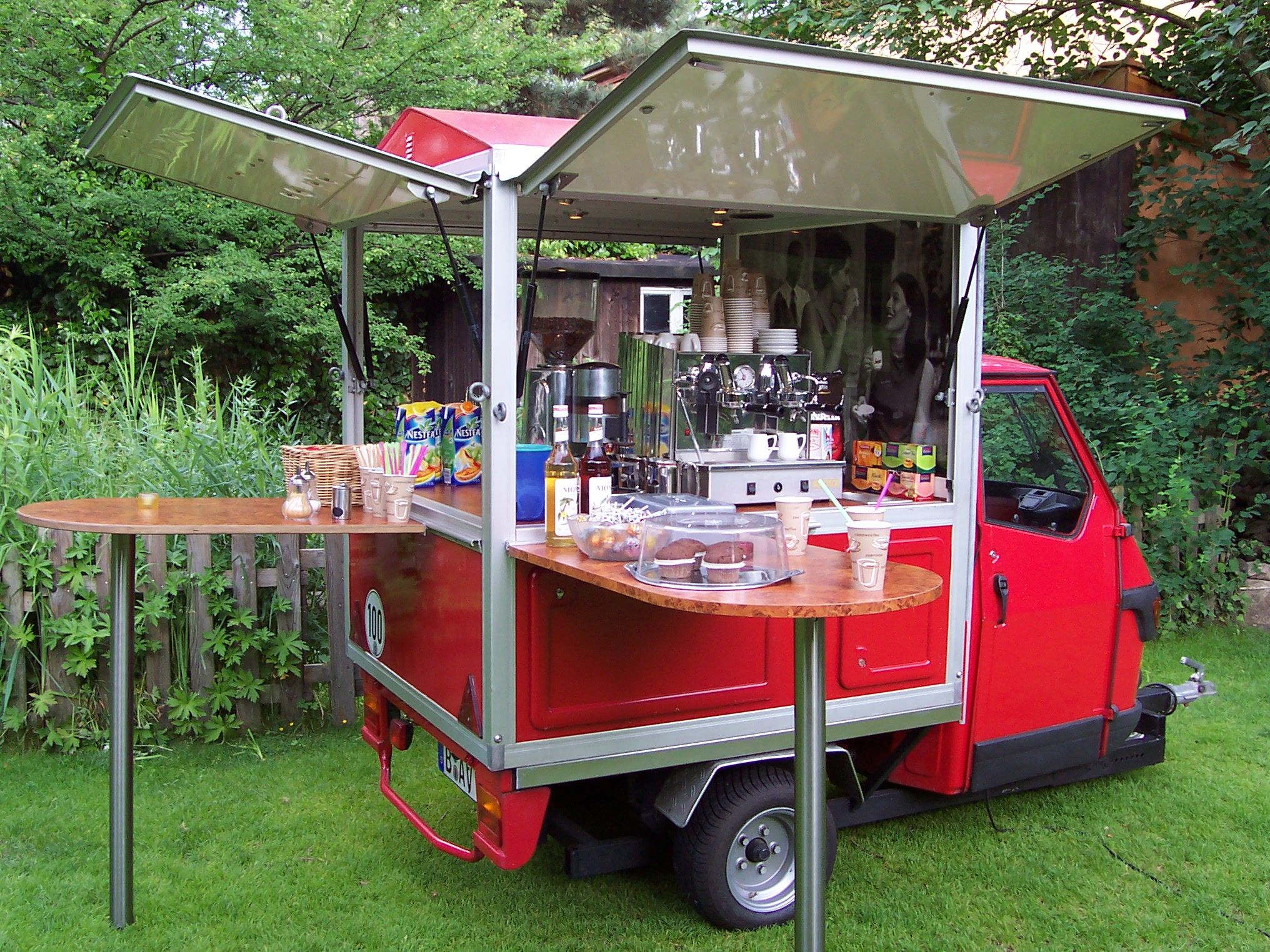 Mobile Küche Anhänger Espresso And Co Mobile Espresso Kaffee Bar In Berlin