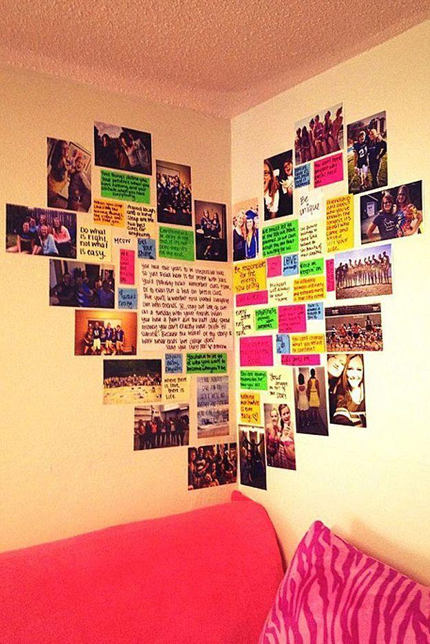37 Insanely Cute Teen Bedroom Ideas for DIY Decor Diy wall art - diy teen bedroom ideas