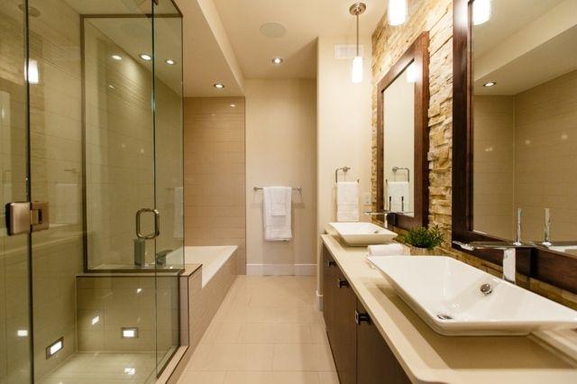 Verblender Naturstein schmal Bad ohne Fenster Unser Haus Pinterest - badezimmer ohne fenster