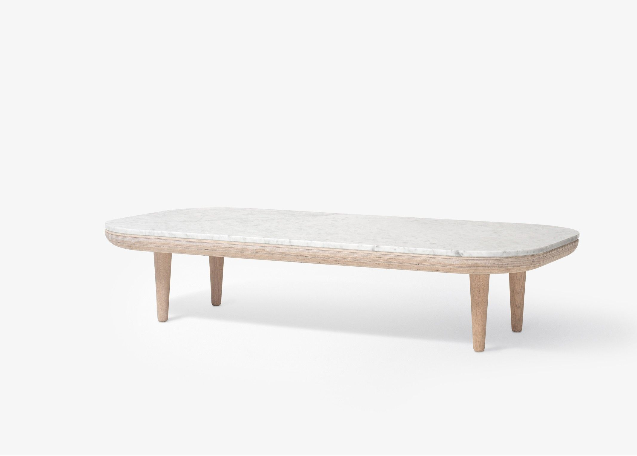 Fly Tables Basses De Salon Table Basse Fly Marbre Sc5 Blanc And Tradition Déco