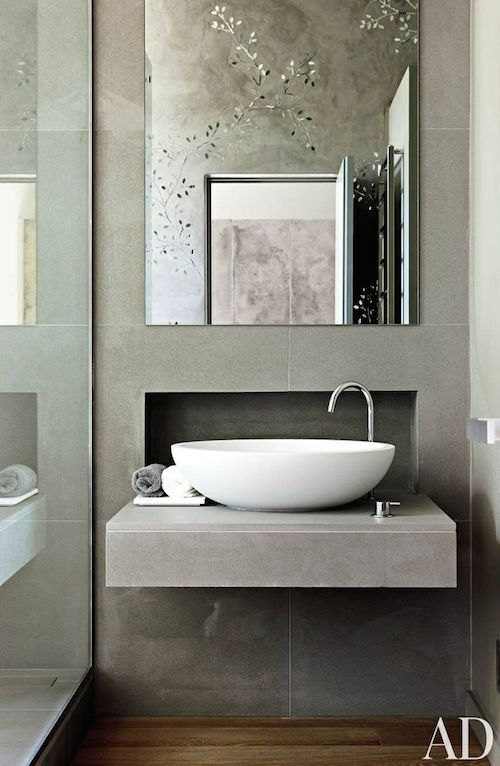 Turn Your Small Bathroom Big On Style With These 15 Modern Sink - small bathroom sink ideas