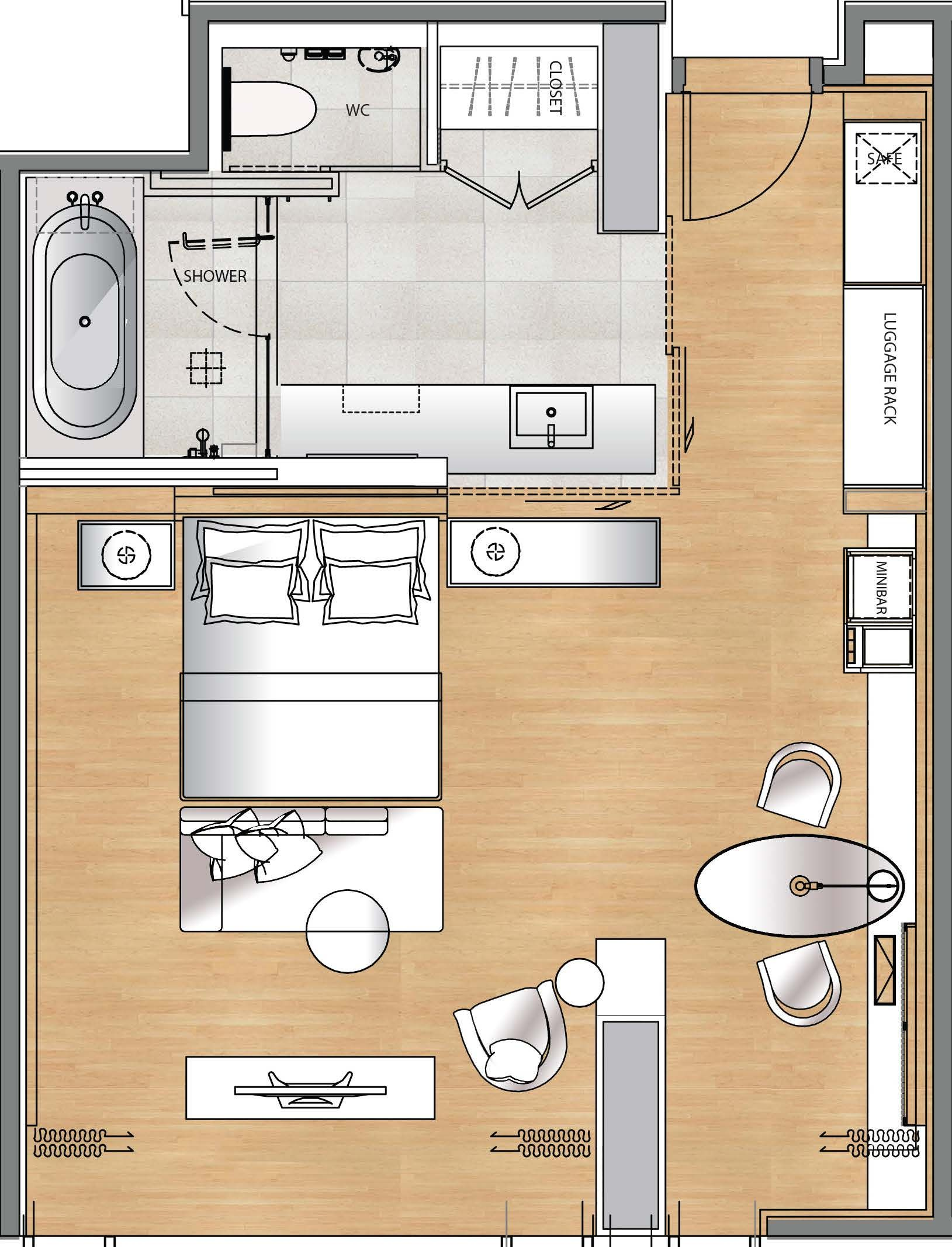 Plan Chambre Hotel Hotel Gym Floor Plan Google Search Hotel Rooms