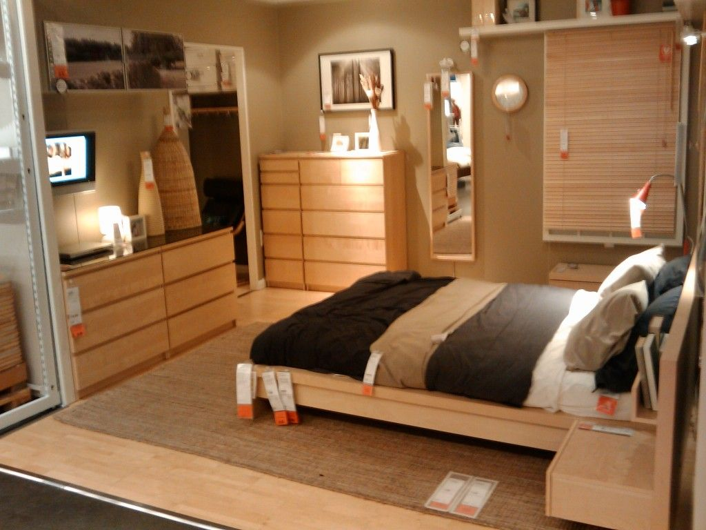 Bedroom Inspiration Ikea Ikea Malm Furniture Natural Wood Small Bedroom Boy