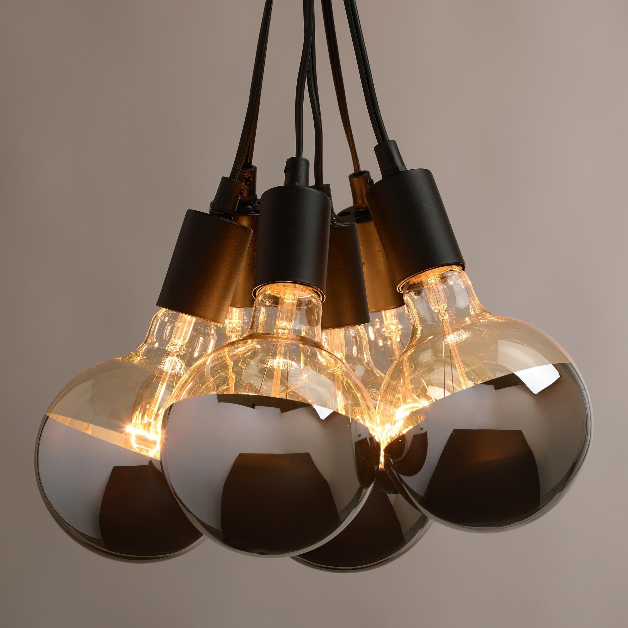 6 Bulb Bathroom Light Fixture Part - 44: 6 Bulb Bathroom Light Fixture -  Chrome