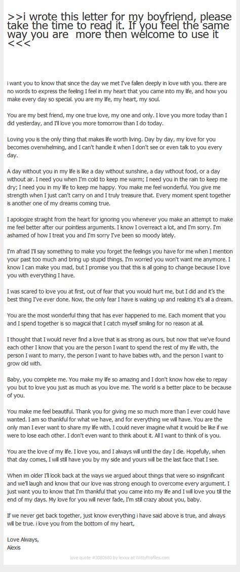 Thank You Letter To My Boyfriend  NodeCvresumePaasproviderCom