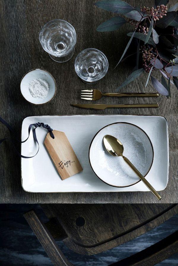Gedeckter Tisch \/ Tischdeko \/ Broste Copenhagen Konzept - tisch decken mit modernem besteck