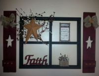 Primitive Wall Decor on Pinterest | Barn Star Decor ...