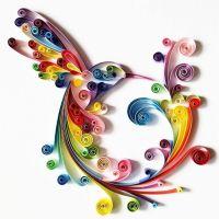 "Quilled Paper Art: ""Colourful Hummingbird"" - Handmade ..."