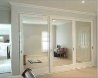modern mirror closet door