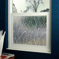 Willow - Designer Glass Window Frosted Decorative Privacy ...