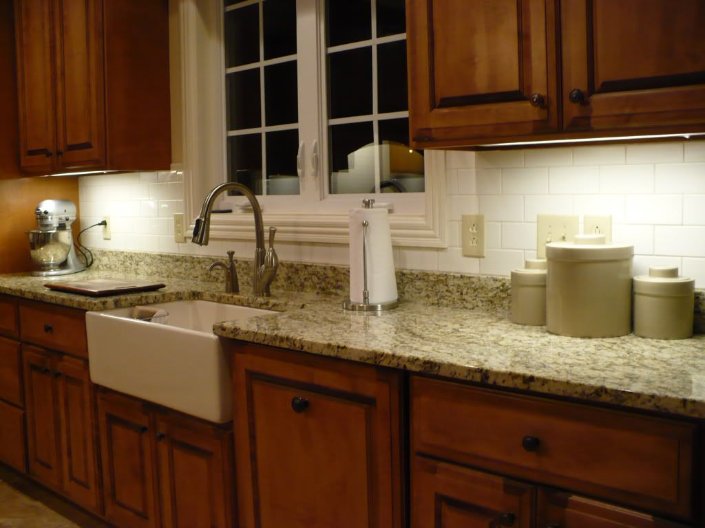Ideas For Kitchen Backsplashes With Granite Countertops Slate Backsplash And Granite Countertop We Tried To Match