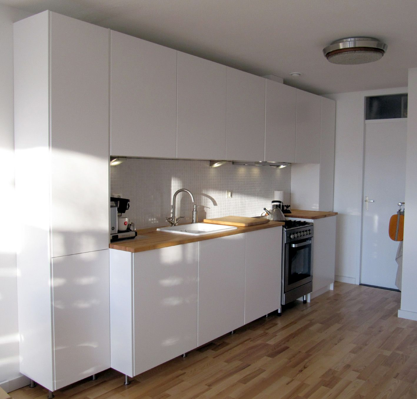 Veddinge Küche Kitchen Is Finished No Birch Plywood Doors But Ikea