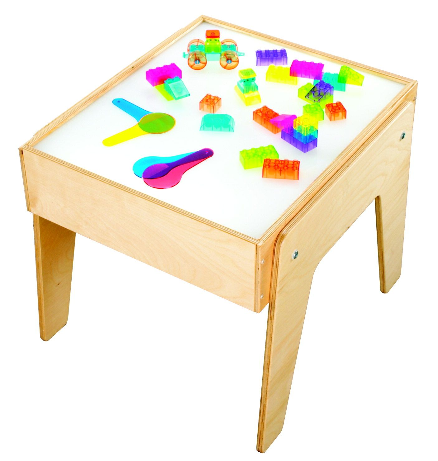 Childcraft mini light table freestanding table fits where space is limited table can be