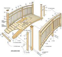 Woodwork Wooden Garden Bridge Plans PDF Plans | Garden ...