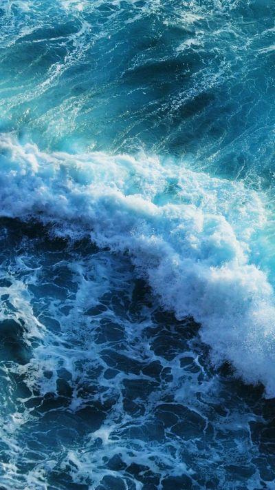 Beautiful blue waves iphone 6 plus wallpaper | ~Wallpapers~ | Pinterest | Wallpaper, Phone and ...