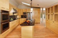 Kitchen Cabinets With Bamboo Flooring | Wood Kitchen ...