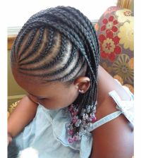 Braided hairstyles for little black girls with different ...