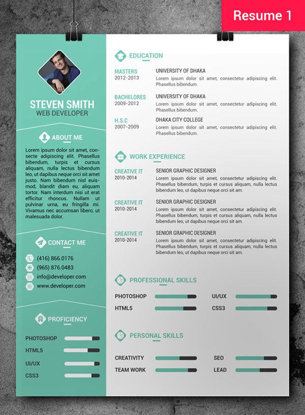 2014 resume templates free professional resume cv template