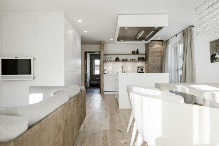 offene küche modern gestalten weiß Küche Möbel - Küchen - moderne kuche gestalten